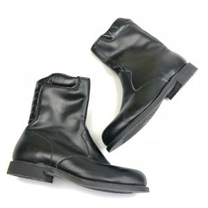 Chippewa men's black leather boots size 10.5 EE